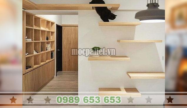 Mẫu kệ trang trí  phòng ngủ KTT14