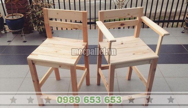 Mẫu ghế gỗ thông đẹp BG142