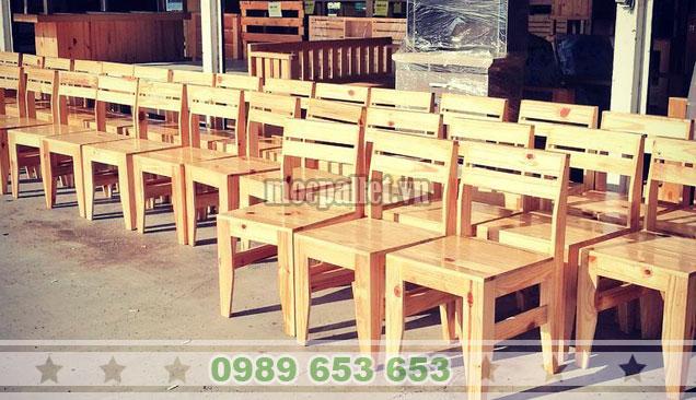 Ghế gỗ thông đẹp nhất tại Mocpallet BG143