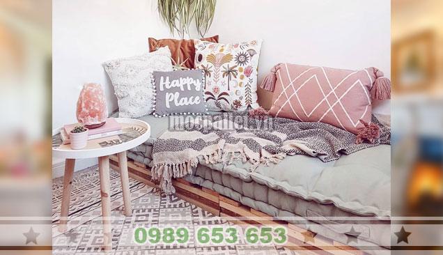 Mẫu ghế sofa pallet phòng khách PK31
