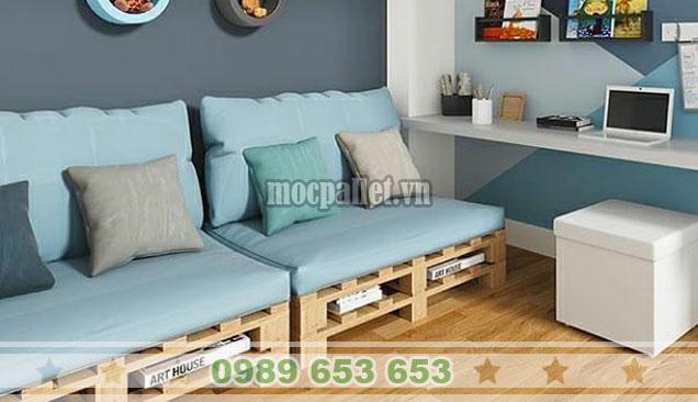 Mẫu ghế sofa pallet sang chảnh PK38