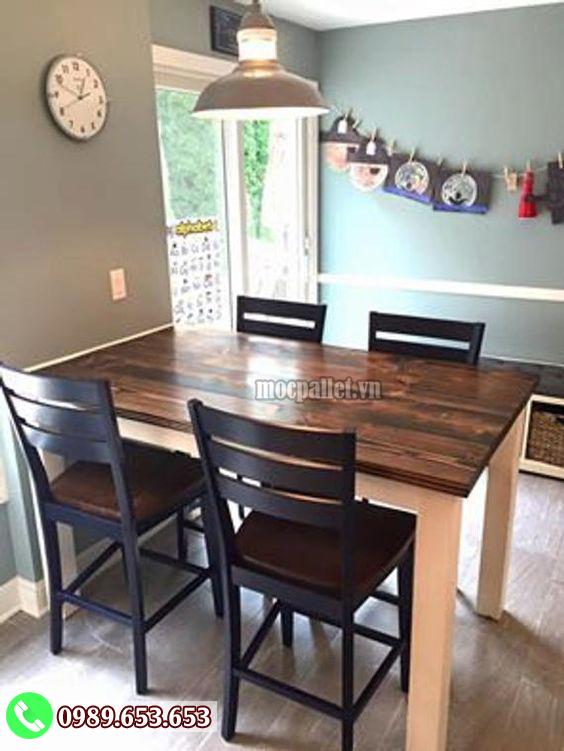 Bộ bàn ghế phòng ăn gia đình đẹp PA24