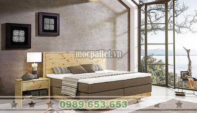 20 mẫu giường hộp kiểu nhật, giường gỗ thông có ngăn kéo