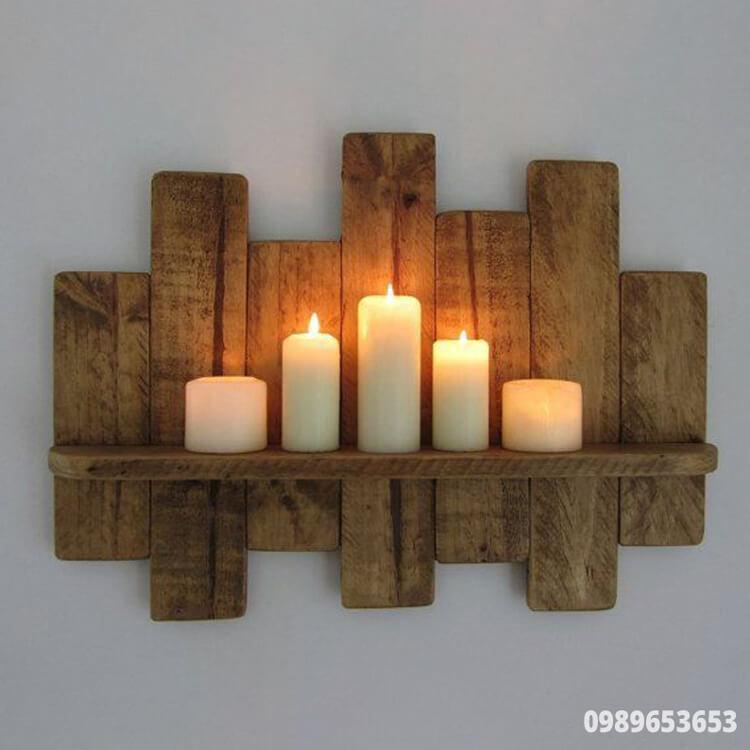 kệ gỗ trang trí