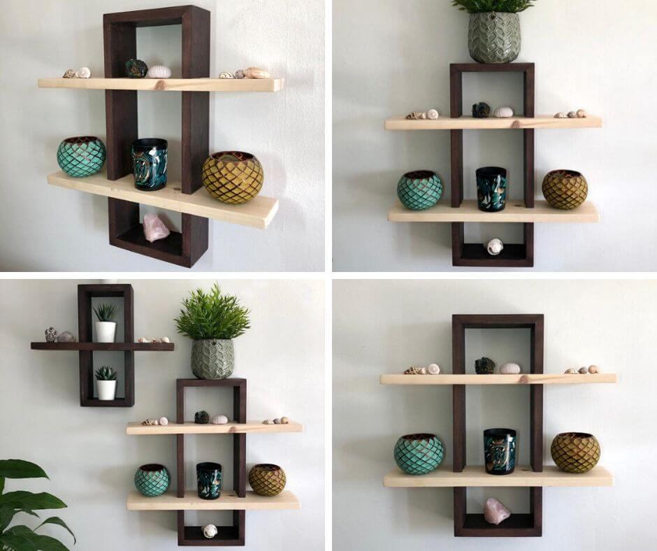Kệ gỗ treo tường